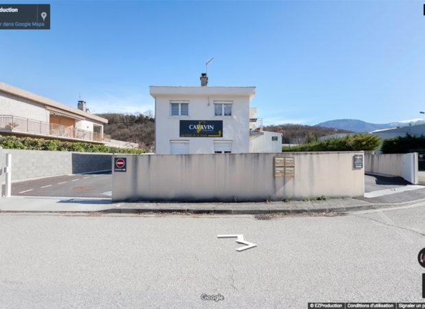 Cavavin Varces Google Street View